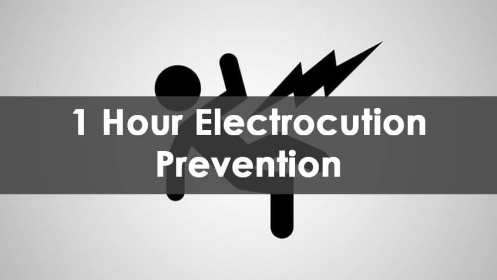 1 Hour Electrocution Prevention Training, In-Person
