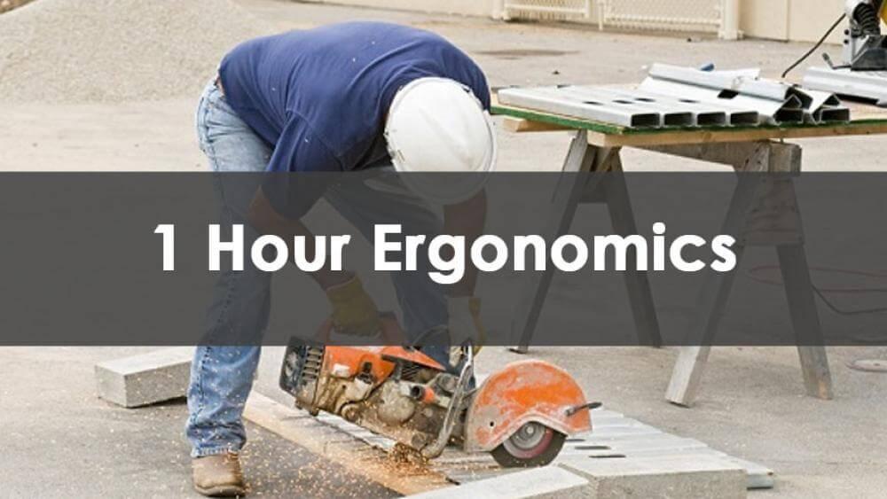 1 Hour Ergonomics Training, In-Person