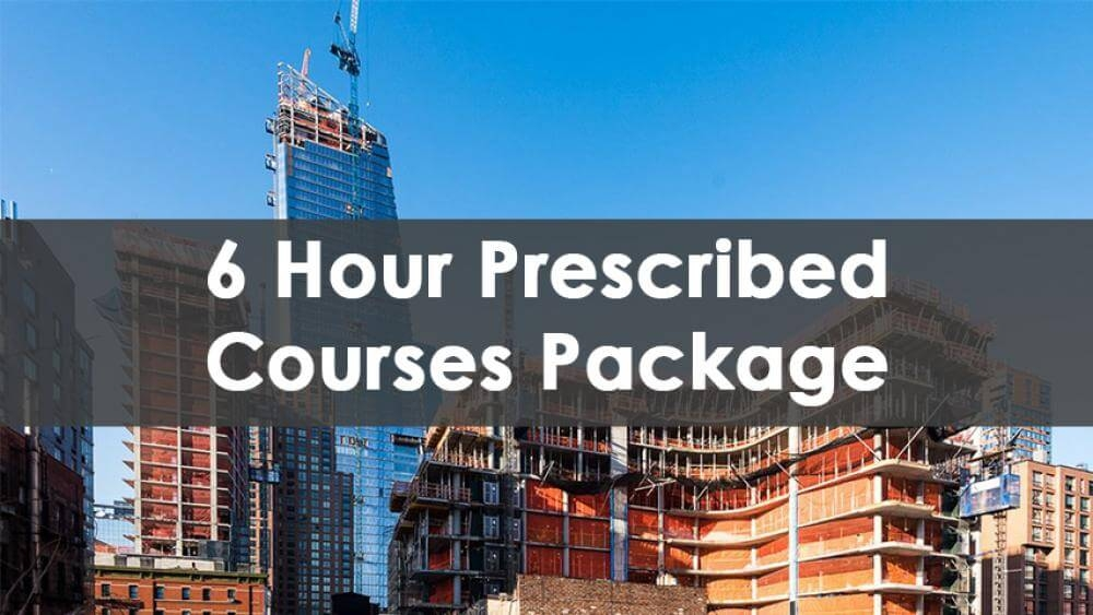 6 Hour SST Prescribed Courses Package, In-Person