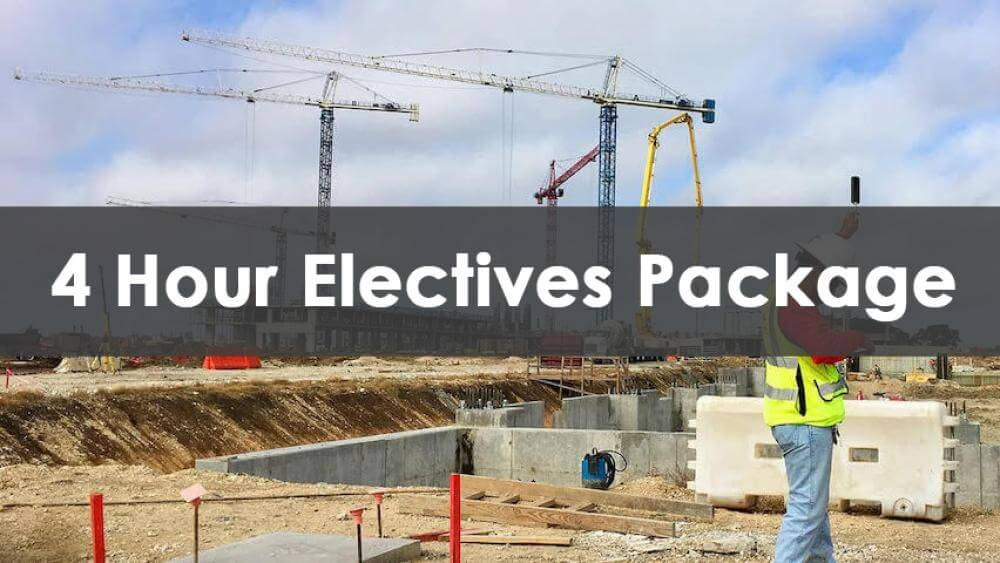 4 Hour Electives Package Course, In-Person