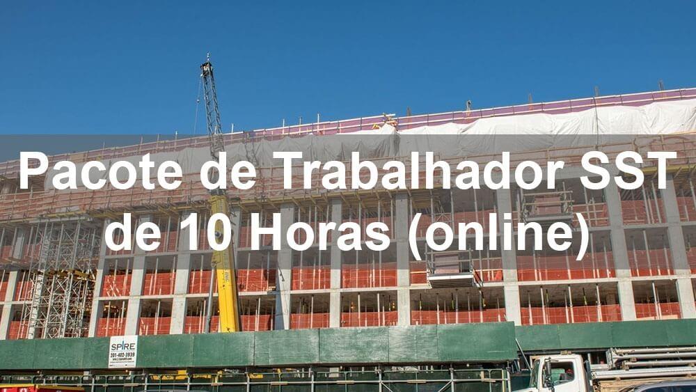 Curso de treinamento on-line do pacote de trabalhadores SST DOB de 10 horas